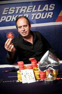 Jose Antonio Martinez ganador Estrelals poker tour Alicante