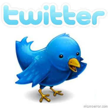 Logotipo de Twitter del pajaro
